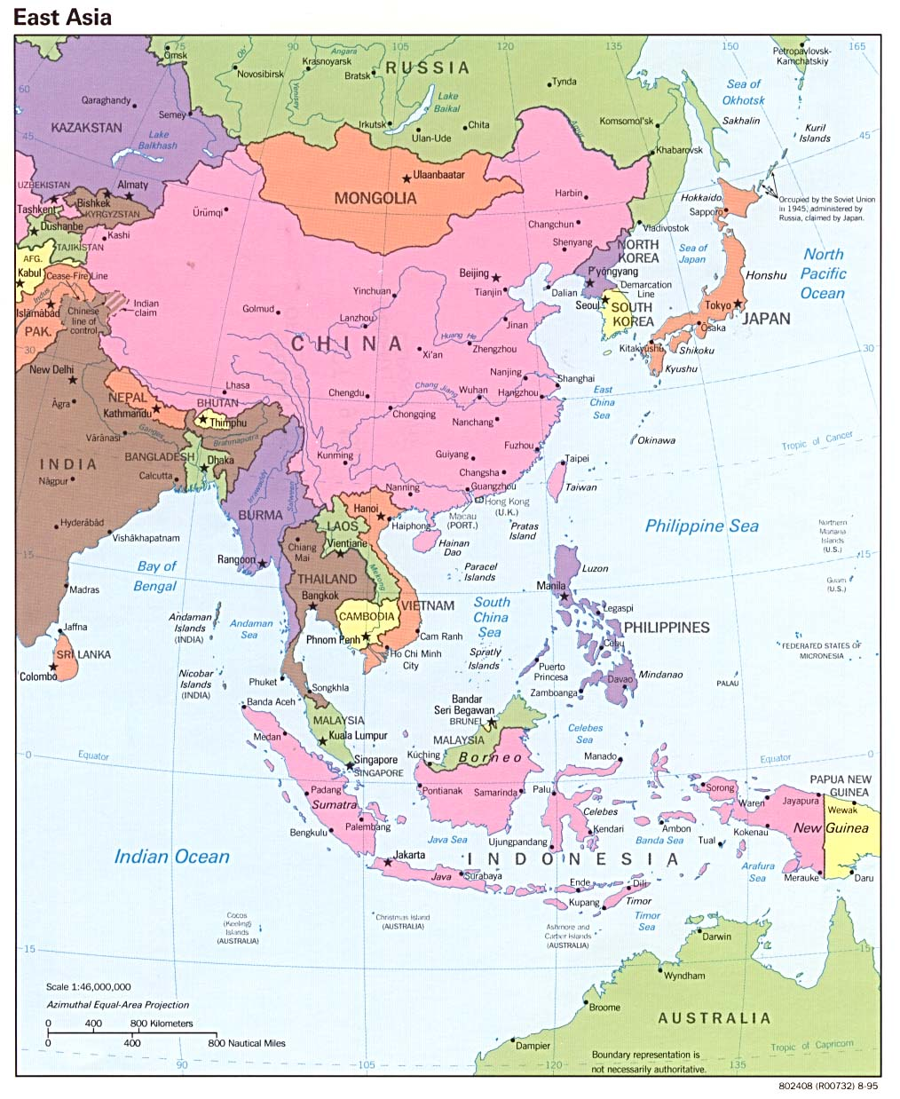 Picture of: East Asia In Geographic Perspective Asia For Educators Columbia University